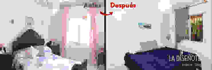 Dormitorio principal La Diseñoteca Home Staging & Interiors