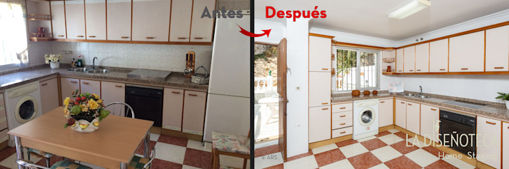 Cocina La Diseñoteca Home Staging & Interiors