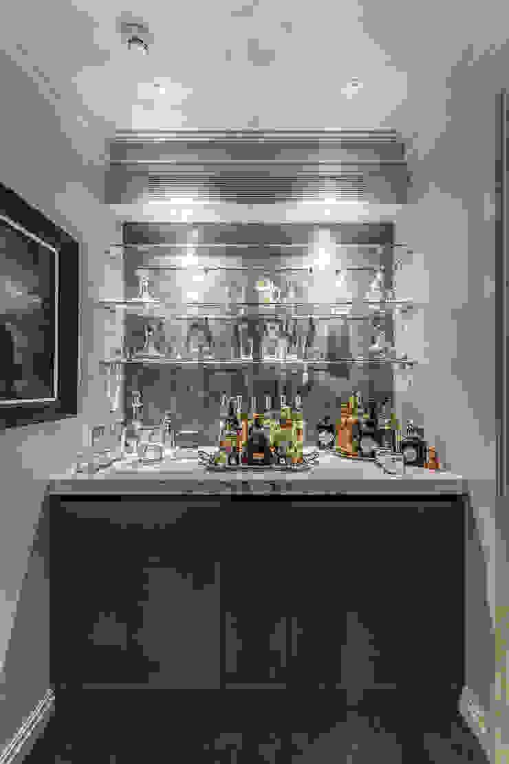 Home Bar RBD Architecture & Interiors Wine cellar