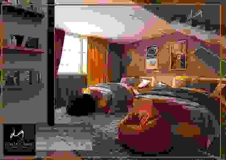 Villa In Rehab من DeZign center office by Dalia Gaber