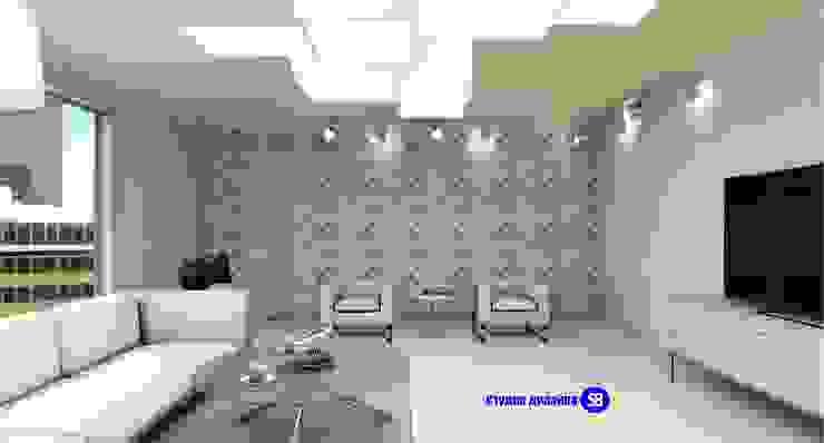 Living room by 'Design studio S-8' Minimalist
