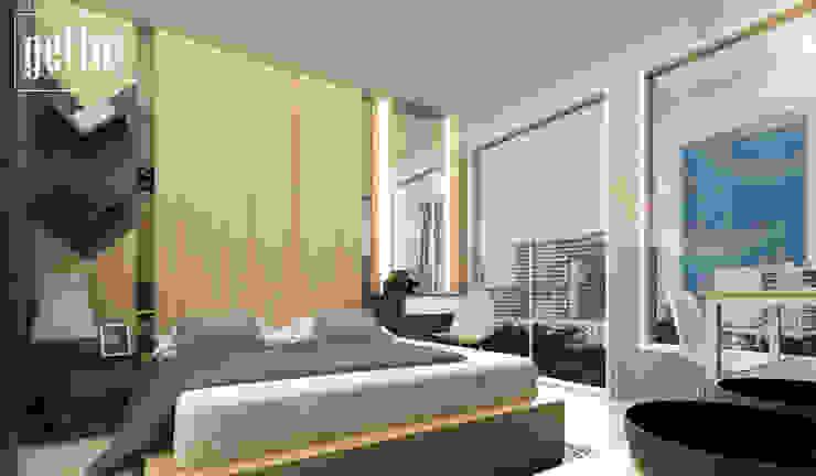 Alliz Apartment Kamar Tidur Modern Oleh Getto_id Modern Kayu Lapis