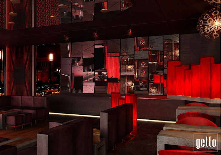 Popular The Mansion Bar & Klub Modern Oleh Getto_id Modern Kayu Lapis
