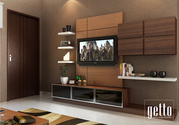 Mr. Asiang Metro Bandar Lampung Ruang Keluarga Modern Oleh Getto_id Modern Kayu Lapis