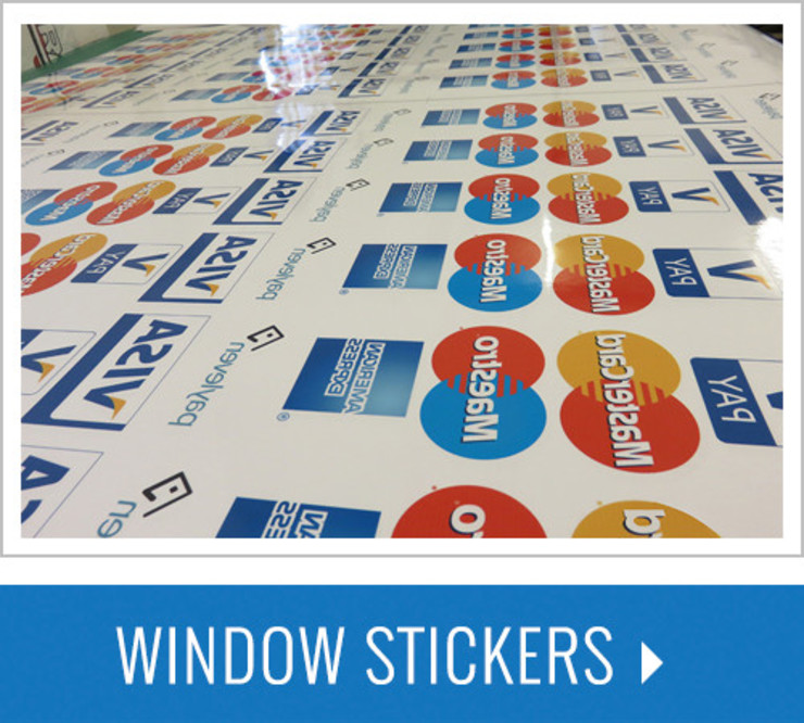 Window Stickers with waterproof Online by Bade Newby Display Classic Plastic