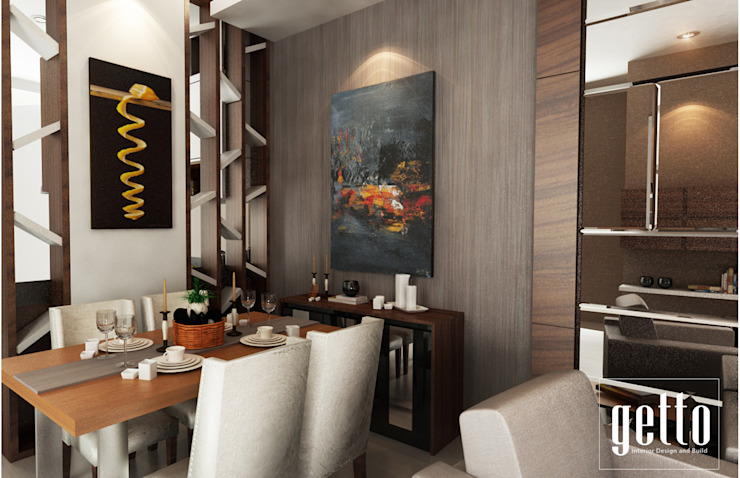 Mr. Asiang Metro Bandar Lampung Ruang Makan Modern Oleh Getto_id Modern Kayu Lapis