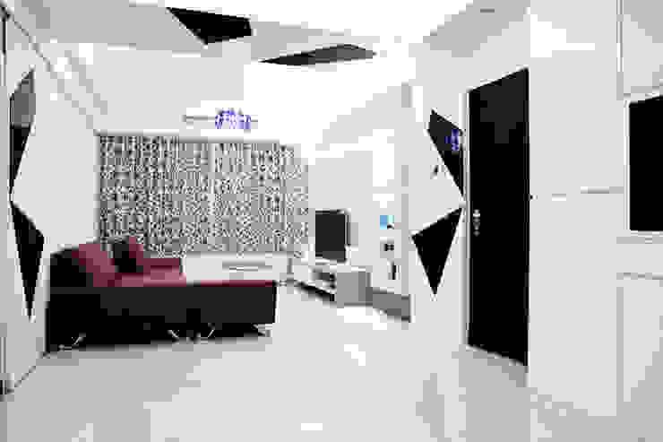 純白色 極簡風 根據 傑羅設計事業有限公司 簡約風 木頭 Wood effect