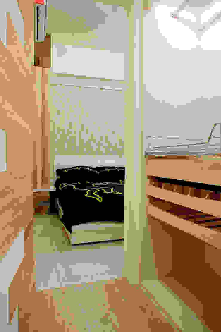 純白色 極簡風 根據 傑羅設計事業有限公司 北歐風 木頭 Wood effect