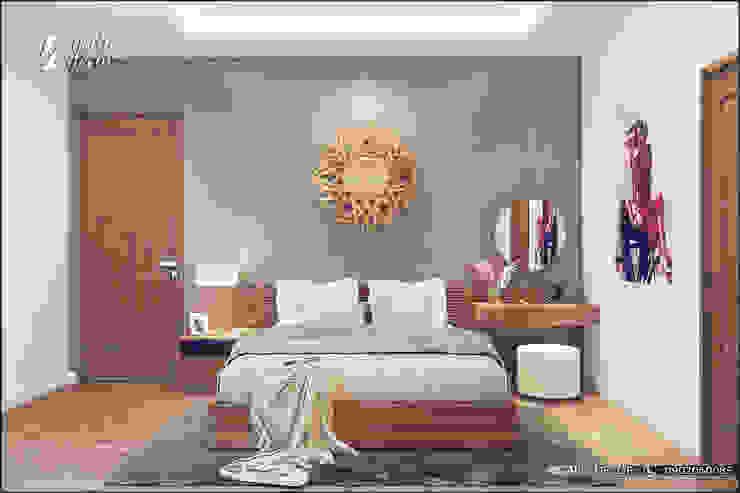 Phòng ngủ phong cách hiện đại bởi homify Hiện đại