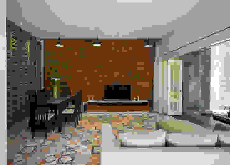 Ruang Keluarga & Ruang Makan View 3 Oleh CV Andyrahman Architect