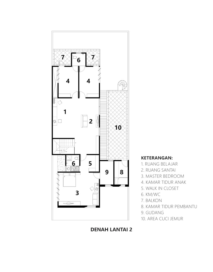 CV Andyrahman Architect