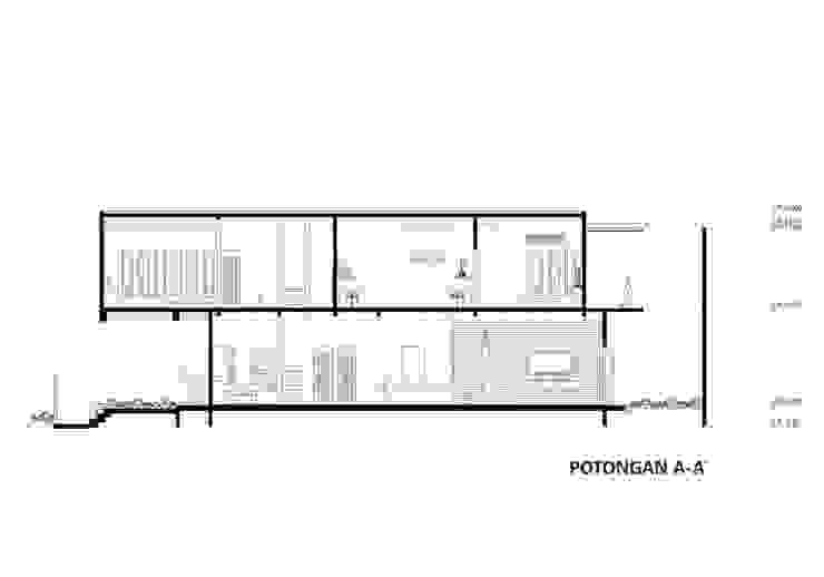 Potongan Memanjang Oleh CV Andyrahman Architect