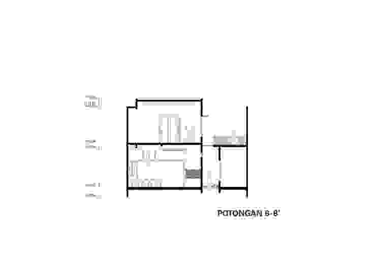 Potongan Membujur Oleh CV Andyrahman Architect