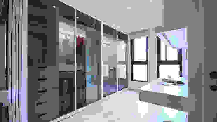 Dressing room by 瓦悅設計有限公司