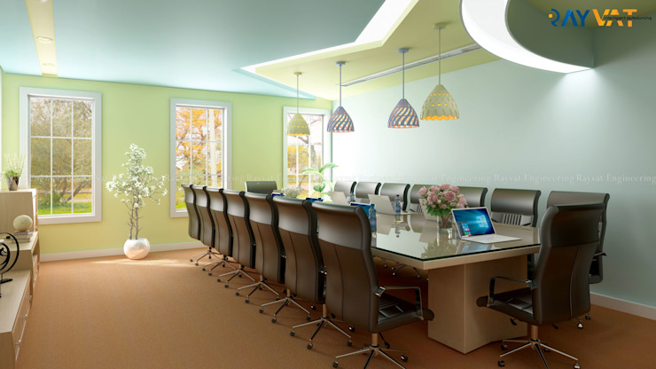 Architectural 3D Interior Rendering by Rayvat Rendering Studio Industrial