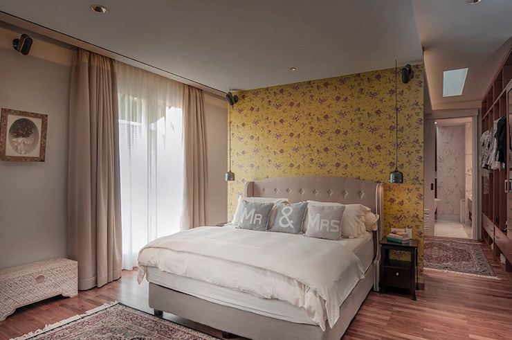 Cajuputi House Kamar Tidur Gaya Eklektik Oleh EIGHT IDEA Eklektik
