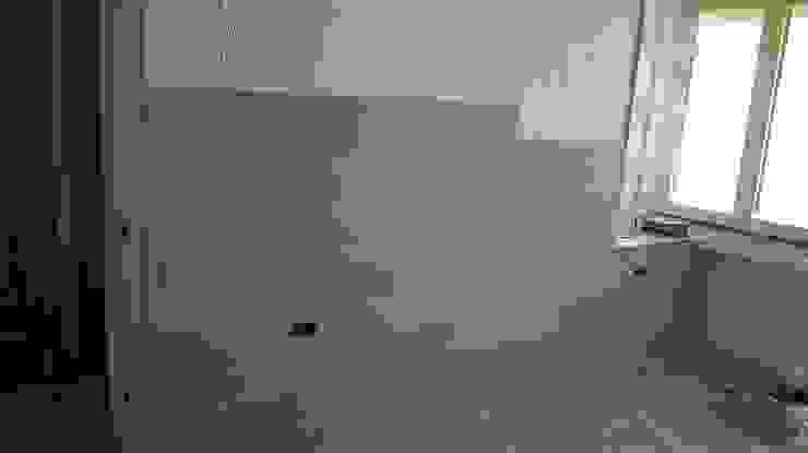Rivestimento parete con parquet Soloparquet Srl Soggiorno moderno Legno