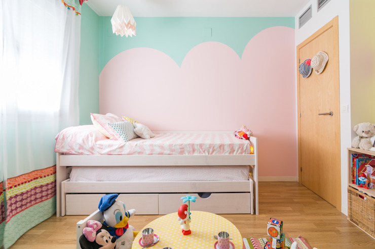 Dormitorio Infantil : Habitaciones infantiles de estilo  por Ópera de Domingo, Escandinavo