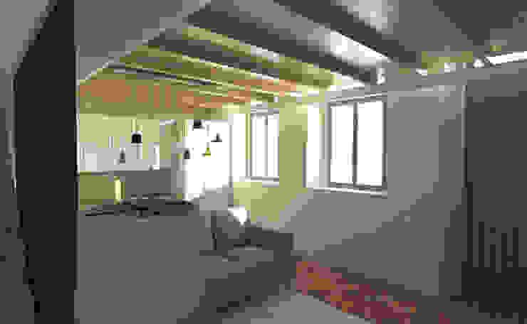 Habitação Família Ferraz Modern Living Room by Grupo Norma Modern