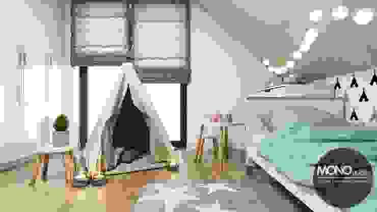 Modern nursery/kids room by MONOstudio Modern