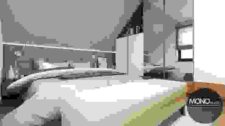 Modern style bedroom by MONOstudio Modern