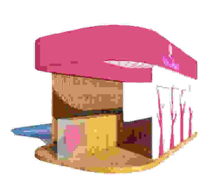 Stand de Exposições Vale da Rosa Modern Study Room and Home Office by Grupo Norma Modern