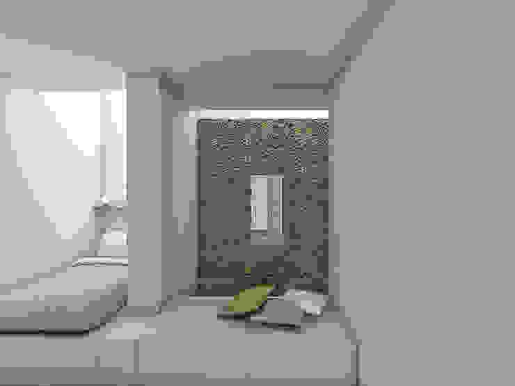 Habitação Tereno Minimalist bedroom by Grupo Norma Minimalist