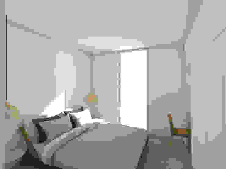 Habitação Tereno Modern Bedroom by Grupo Norma Modern