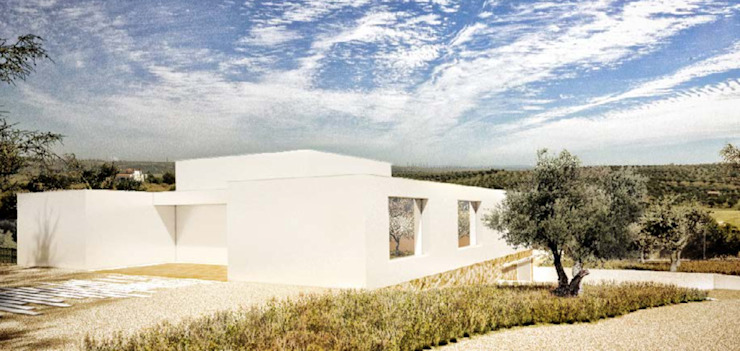 Casa Leonel Country style house by Grupo Norma Country