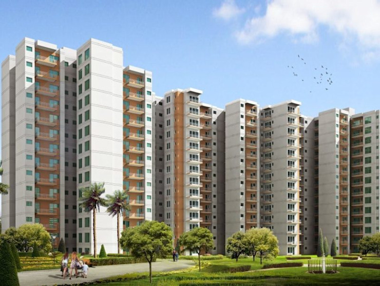 Signature Global Orchard Avenue: classic  by GLS Consultants, Classic Bricks