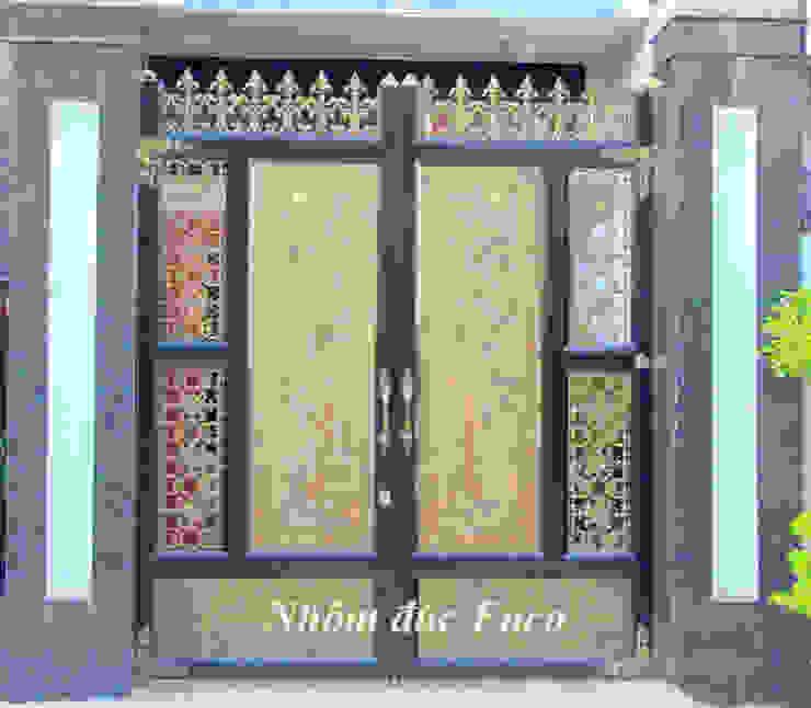 Cửa nhôm đúc đặc bởi Công ty cổ phần nhôm đúc Fuco