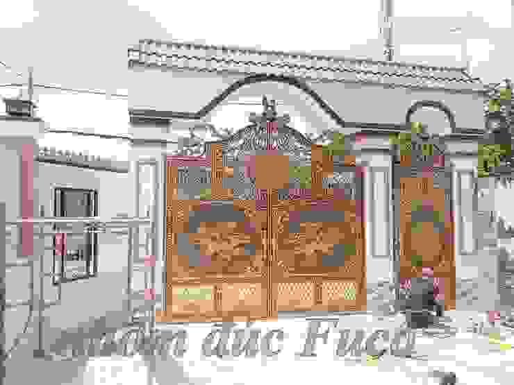 Cổng nhôm đúc phù điêu bởi Công ty cổ phần nhôm đúc Fuco