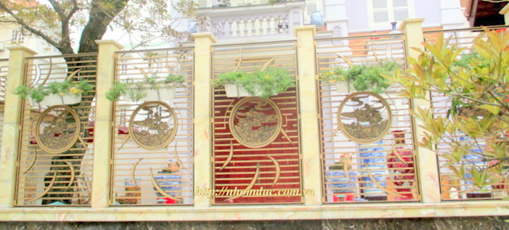Cửa cổng hợp kim nhôm đúc bởi Công ty cổ phần nhôm đúc Fuco