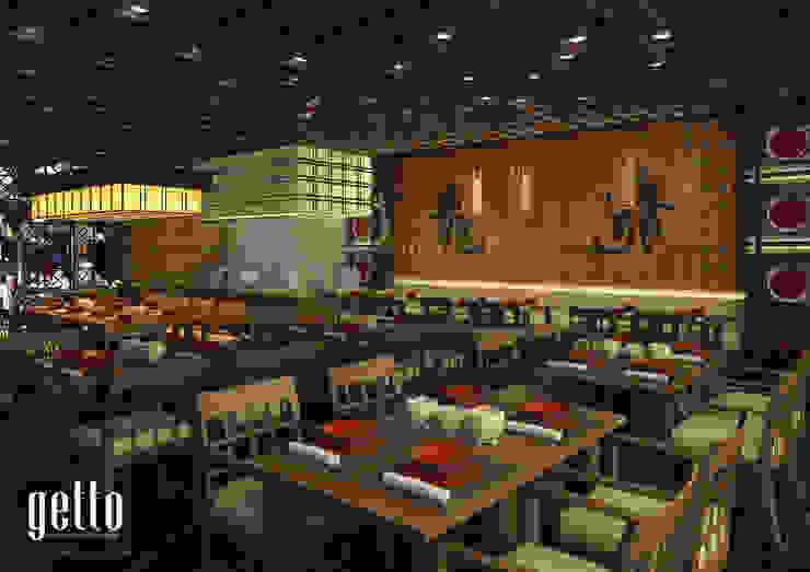 China Town Pancoran Gastronomi Gaya Asia Oleh Getto_id Asia Kayu Wood effect