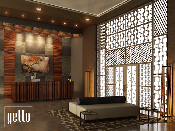 China Town Pancoran Hotel Gaya Asia Oleh Getto_id Asia Kayu Wood effect
