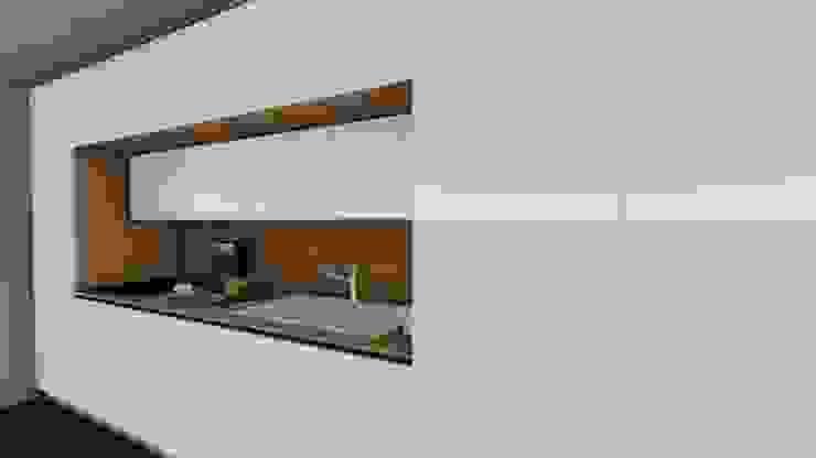 Cocinas de Avila Arquitectos Minimalista