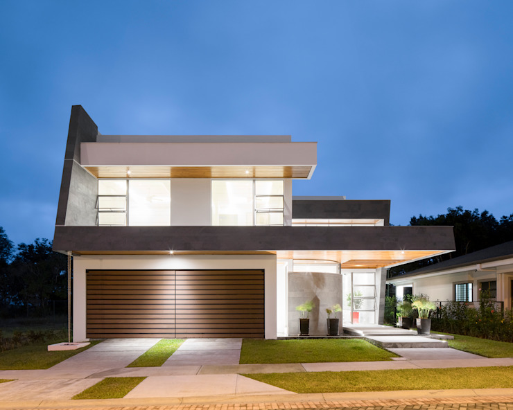 Modern houses by J-M arquitectura Modern Concrete