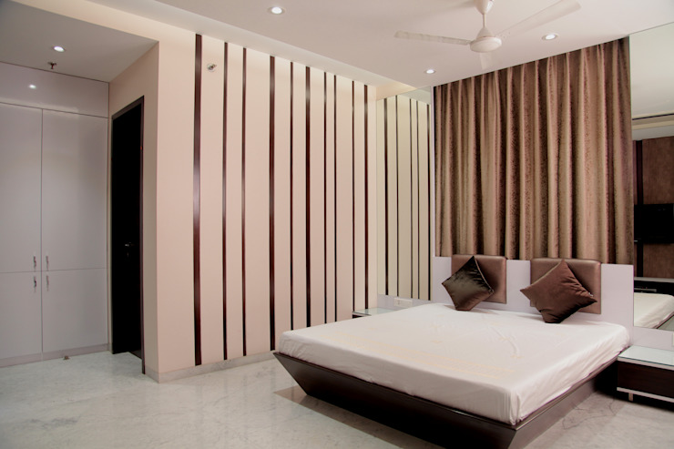 Parent's Bedroom Modern style bedroom by homify Modern