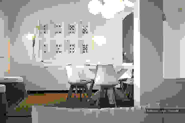 Casa decorada com Velharias de Janas Pedro Queiroga | Fotógrafo Salas de estar modernas Branco
