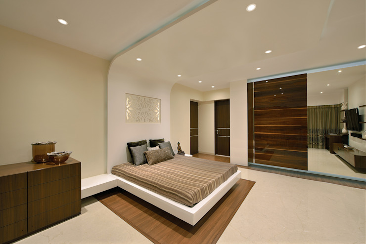 Bedroom III Modern style bedroom by homify Modern
