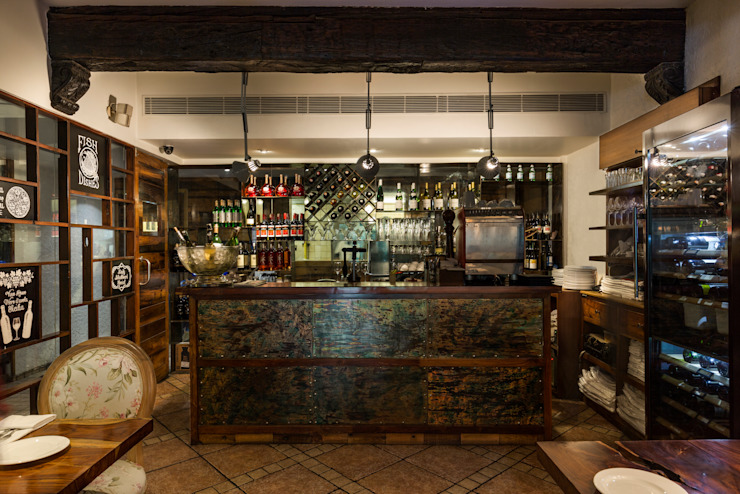 Spago, GK I Mediterranean style bars & clubs by The Workroom Mediterranean