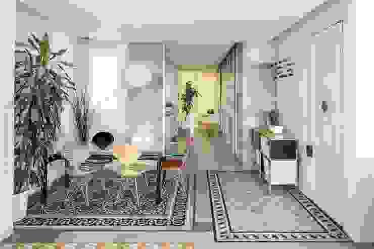 nghệ nhân kiến trúc Phòng khách phong cách mộc mạc bởi Nghệ nhân Kiến trúc thủ công Mộc mạc