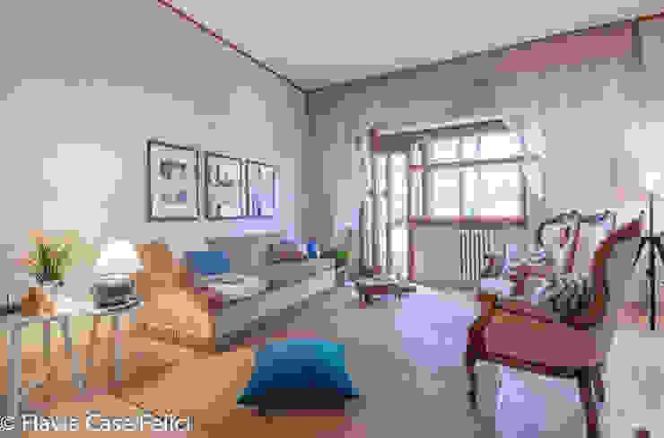 HOME STAGING in zona Talenti – CASA IN VENDITA Soggiorno classico di Flavia Case Felici Classico