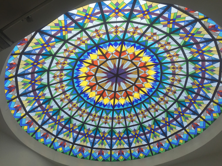 Stainedglass Domes by Glasstec