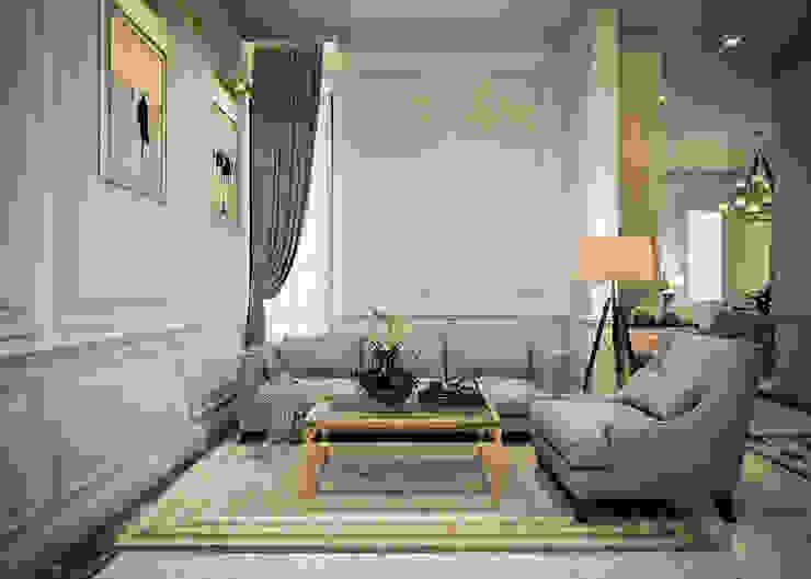 งานออกแบบบ้านพักอาศัย พระราม9 (ออกแบบภายนอกและภายใน): คลาสสิก  โดย I2D Studio, คลาสสิค