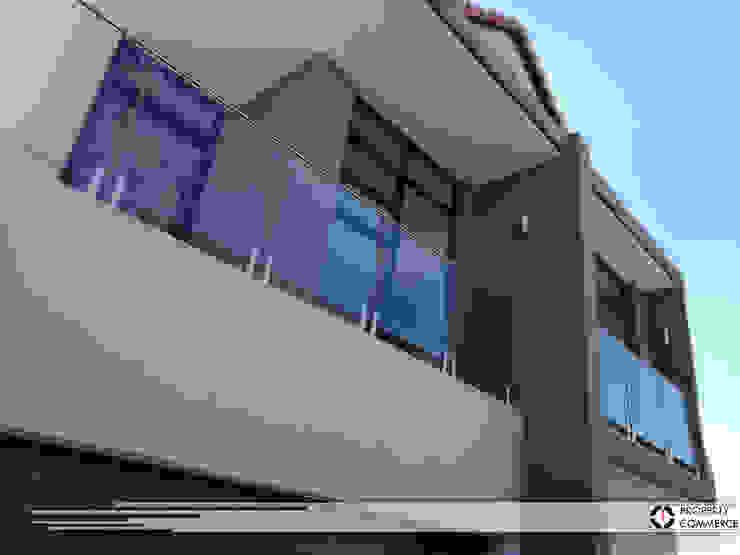 Modern balcony design by Property Commerce Architects Modern