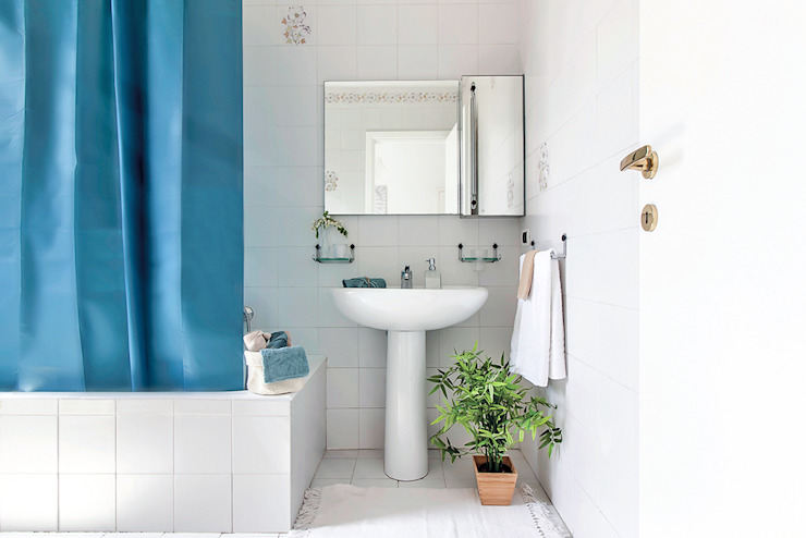 Habitat Home Staging & Photography ห้องน้ำซิงก์ Blue