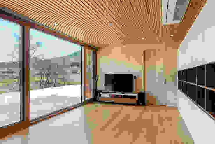 애플팜 하우스(Apple Farm House) 모던스타일 거실 by 투엠투건축사사무소 모던