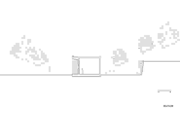 애플팜 하우스(Apple Farm House) 모던스타일 주택 by 투엠투건축사사무소 모던