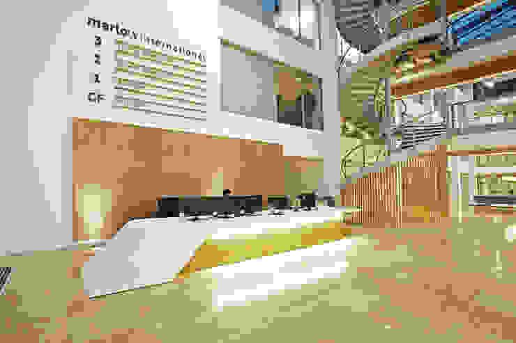 Marlow International Sonnemann Toon Architects Scandinavian style office buildings